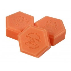 Honey soap with wax, 100g