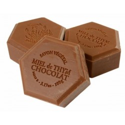 Honey soap with chocolate and cinnamon, 100g