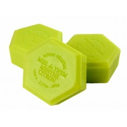 Honey soap with mint and lemon, 100g