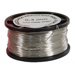 Wire 0,4 mm (100g), stainless