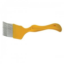 Uncapping fork, plastic handle