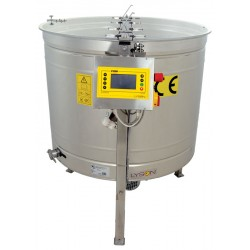 "Heated honey settler 100kg with stainless valve 5/4""with handles"