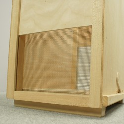 Tangential honey extractor, Ø400mm with legs, 2-frame, manual drive, OPTIMA